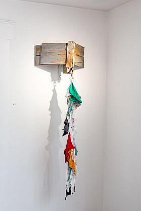 DAVID KIMBALL ANDERSON, LITTLE VILLAGE, CORNICE cast aluminum, fabric and copper