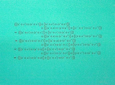 """BERNAR VENET, 6b+ A.P. 1/4 """"Formulae Yellow"""" silkscreen"""