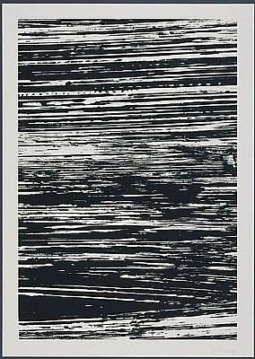 ELLSWORTH KELLY, THE THAMES: THE STATES OF THE RIVER 18/25 lithograph