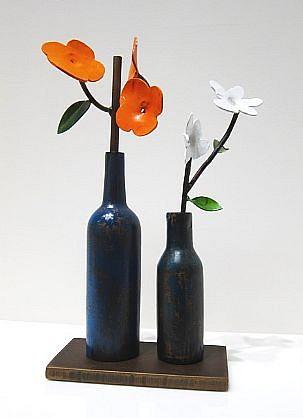 DAVID KIMBALL ANDERSON, SUMMER painted steel, bronze
