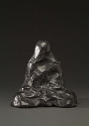 DAVID KIMBALL ANDERSON, BUDDHA cast bronze with patina