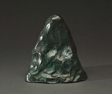 DAVID KIMBALL ANDERSON, BUDDHA cast bronze with patina