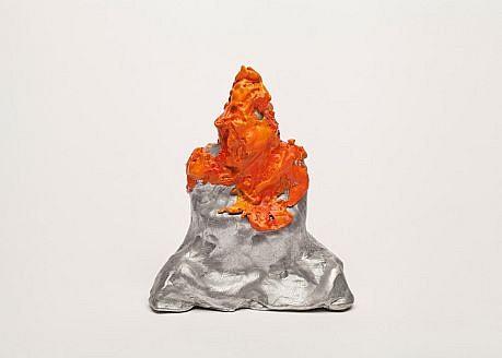 DAVID KIMBALL ANDERSON, BUDDHA painted aluminum