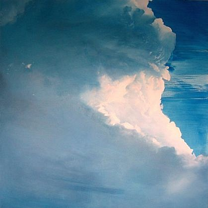 IAN FISHER, ATMOSPHERE NO. 27 oil on canvas