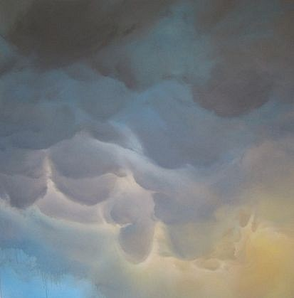 IAN FISHER, ATMOSPHERE NO. 28 oil on canvas