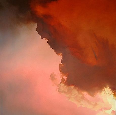 IAN FISHER, ATMOSPHERE NO. 24 oil on canvas