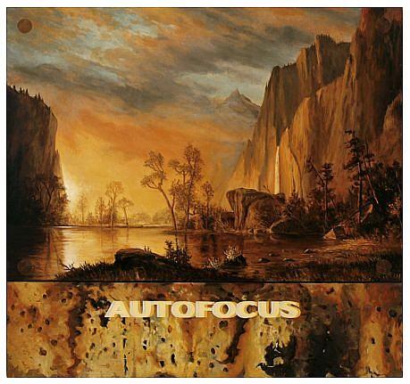 JERRY KUNKEL, AUTO FOCUS (FOR ALBERT BIERSTADT) oil on canvas