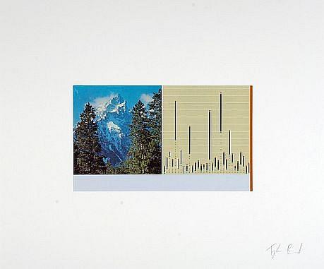 TYLER BEARD, Mountain Versus Chart collage