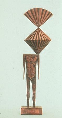 JOHN BUCK, STUDY 1E acrylic/ wood sculpture