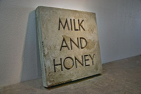 BRANDON BULTMAN, MILK AND HONEY concrete