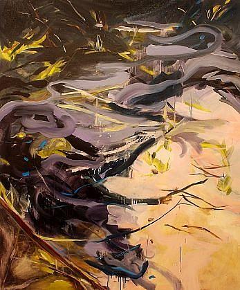 DIANE CARR, BRUSH oil on canvas