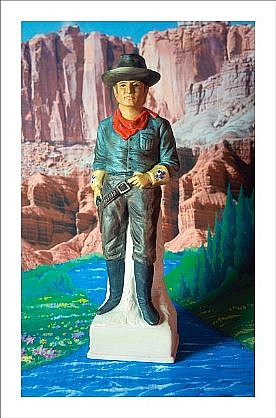 """GARY EMRICH, CAVALRY SCOUT WITH PURE ASPEN WATER """"Firewater"""" Ed. 5 pigment print"""