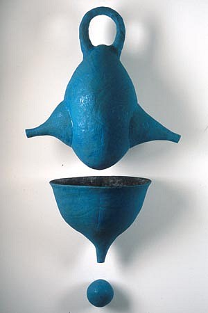 SCOTT CHAMBERLIN, droppe ceramic sculpture