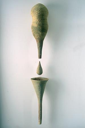 SCOTT CHAMBERLIN, fonel ceramic sculpture