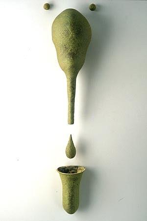SCOTT CHAMBERLIN, ocupado ceramic sculpture