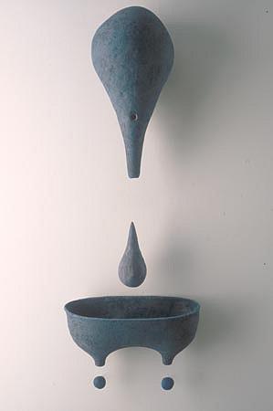 SCOTT CHAMBERLIN, swirten ceramic sculpture