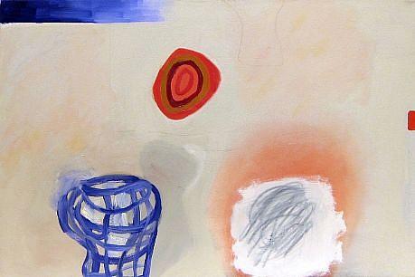 DALE CHISMAN ESTATE, GOD'S EYE oil on canvas