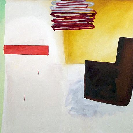 DALE CHISMAN ESTATE, WESTERN THEORY 5 oil on canvas