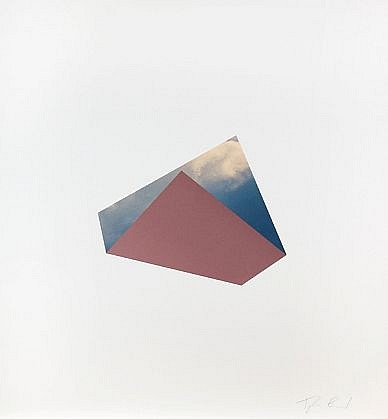 TYLER BEARD, CLOUD WITH PURPLE collage