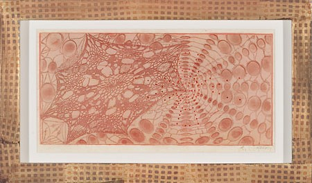 JUDY PFAFF, UNTITLED (COLORED LACE) 29/30 etching, surface roll, wax and lithography
