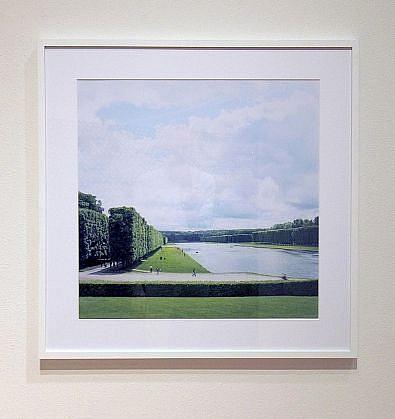 KIM DICKEY, CORRIDOR (VERSAILLES) light jet print