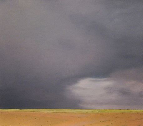 PETER DI GESU, KANSAS oil on canvas