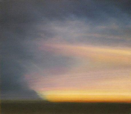 PETER DI GESU, LIGHT LEAK oil on canvas