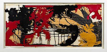 JUDY PFAFF, YEAR OF THE DOG #10 20/20 woodblock digital and hand-printing