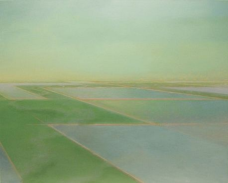 PETER DI GESU, DOT'S LIGHTS (2) oil on canvas