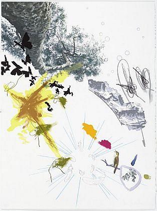 BENNY DRÖSCHER, GOOD MAGIC (EARTH) 115/125 lithograph
