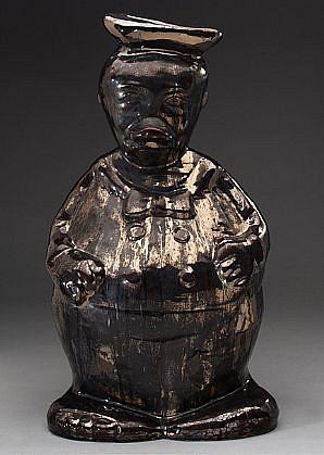 JEFF STARR, EL PATO glazed ceramic