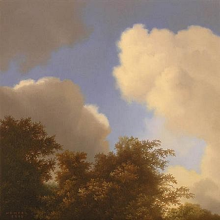WES HEMPEL, UNTITLED # 18 oil on canvas