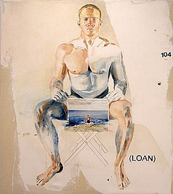 JACK BALAS, Loan oil on canvas