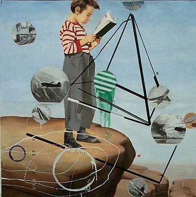 JACK BALAS, RESERVOIR Collaboration with Wes Hempel oil/enamel/canvas