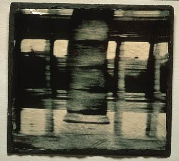 GARY EMRICH, CALCULATION photo emulsion transfer/ slate