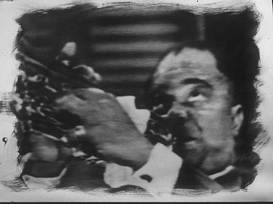 GARY EMRICH, LOUIE ARMSTRONG photo emulsion transfer/ paper