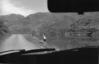 CHUCK FORSMAN, Summer Boy, Oregon/ Idaho border black & white photograph