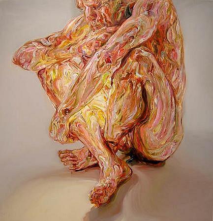 STEFAN KLEINSCHUSTER, CUSP III oil on canvas