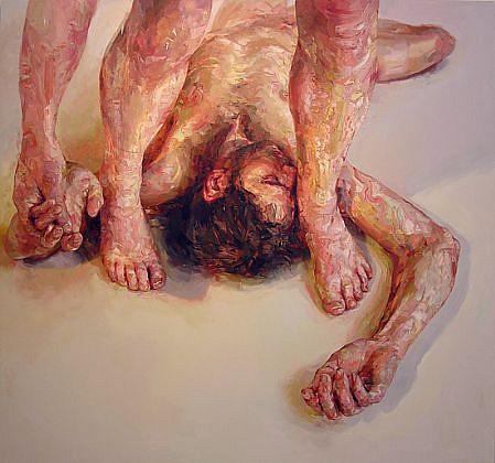 STEFAN KLEINSCHUSTER, RUBRIC VI oil on canvas