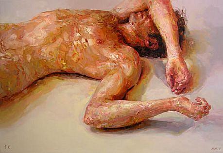 STEFAN KLEINSCHUSTER, RUBRIC I oil on canvas