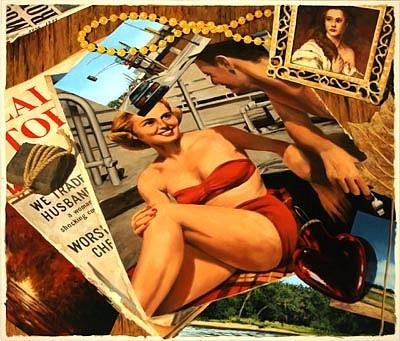 JERRY KUNKEL, motel oil on panel