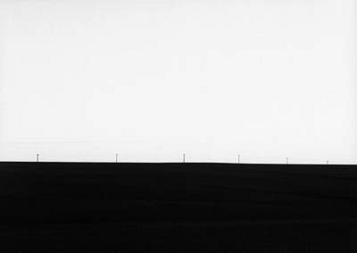 KEVIN O'CONNELL, EARTH AND POLES silver gelatin print