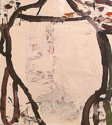 GARY KOMARIN, VESSEL NO. 88 (B) acrylic on paper