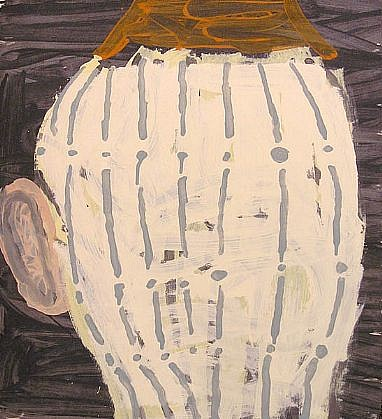 GARY KOMARIN, VESSEL, LUXOR 2000 acrylic on paper