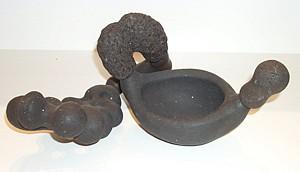 BRAD MILLER, Rocker #2 ceramic sculpture