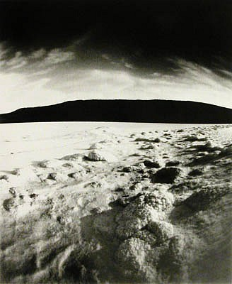 DAVID SHARPE, SPRIAL JETTY 1.9 silver gelatin print