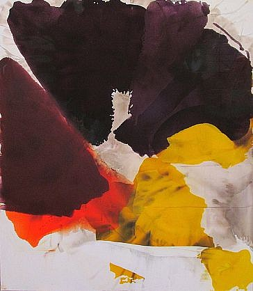 DIRK DE BRUYCKER, FIGURE OF FOUR asphalt, cobalt drier, gesso and oil on canvas