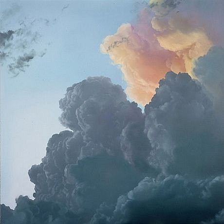IAN FISHER, ATMOSPHERE NO. 41 oil on canvas