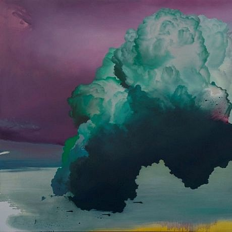 IAN FISHER, ATMOSPHERE NO. 33 oil on canvas