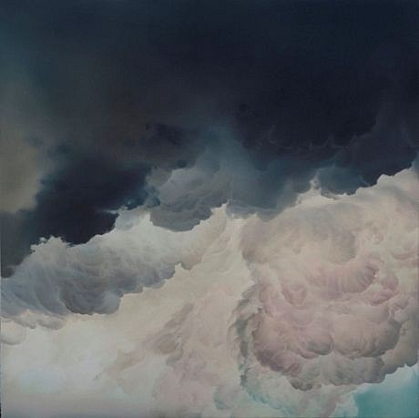IAN FISHER, ATMOSPHERE NO. 34 oil on canvas